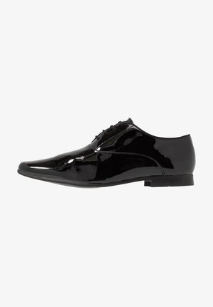 REDGRAVE PATENT POINT - Zapatos con cordones - black