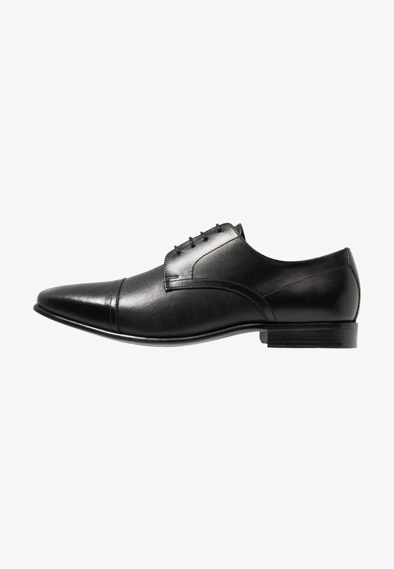 Burton Menswear London - BANKS - Klassiset nauhakengät - black