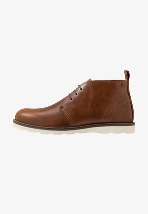 PERCIVAL WEDGE CHUKKA - Nauhakengät - tan
