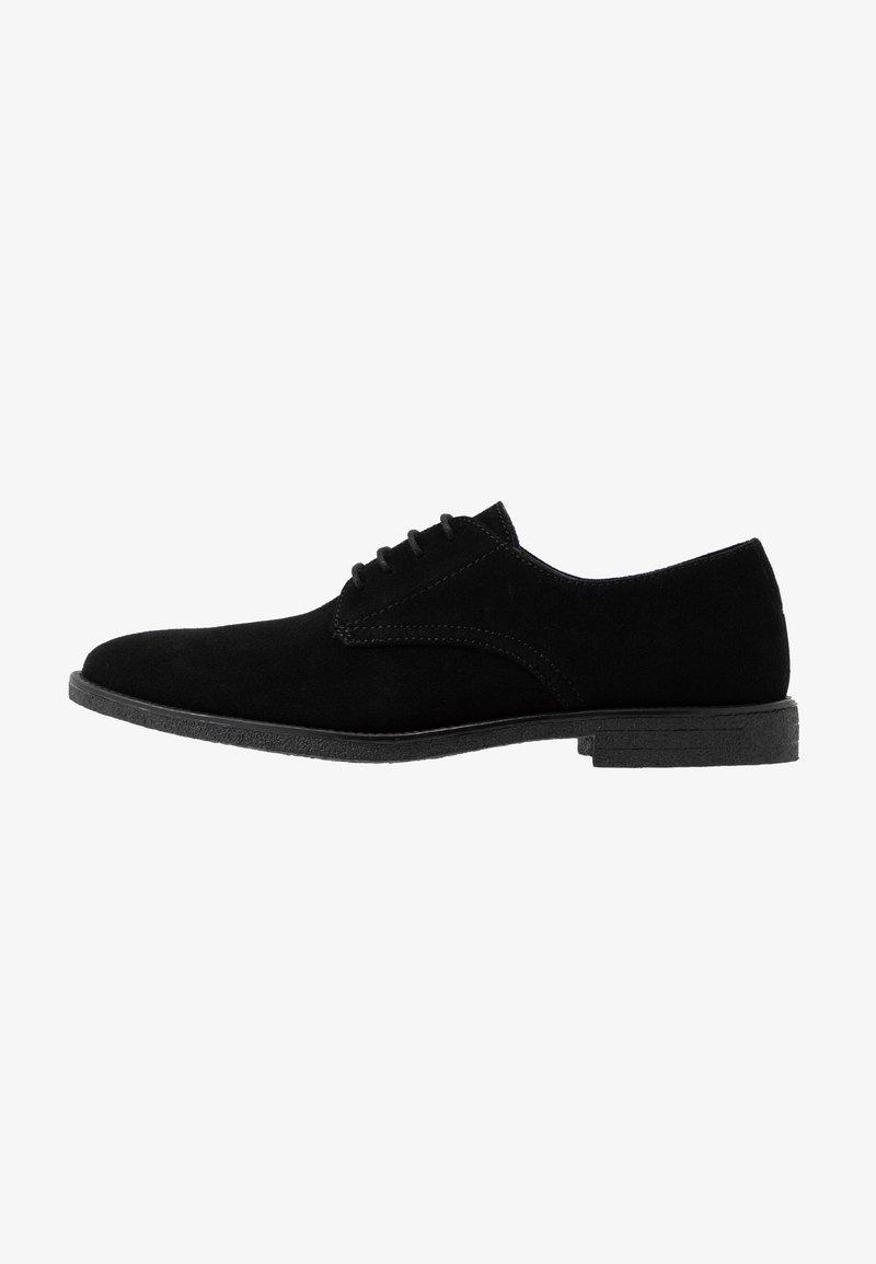 Burton Menswear London - JACOBY DERBY - Šněrovací boty - black