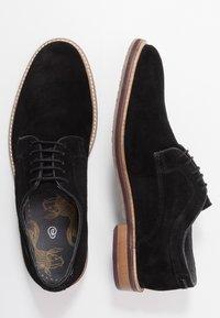 Burton Menswear London - PORT DERBY - Business sko - black - 1