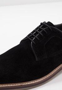 Burton Menswear London - PORT DERBY - Business sko - black - 5