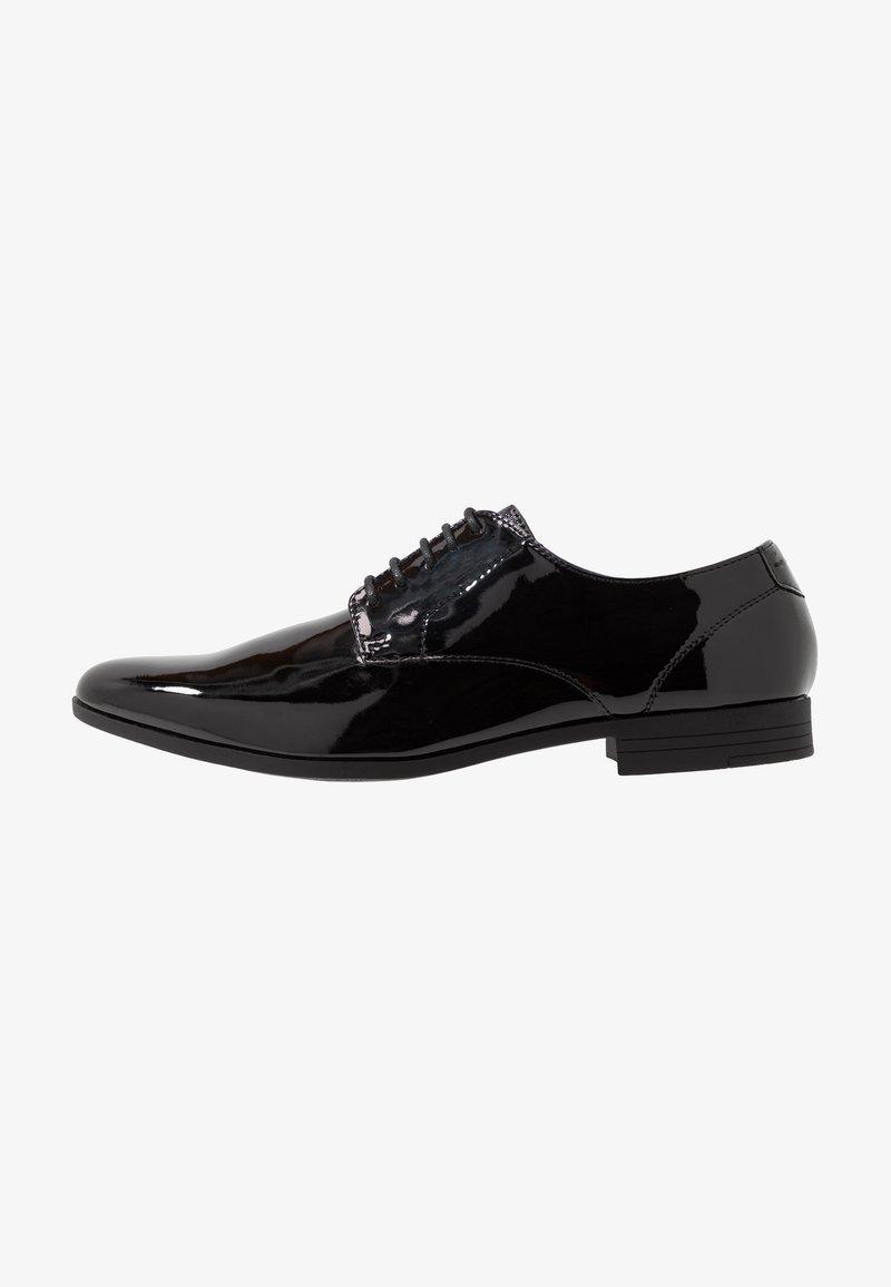Burton Menswear London - FERRIS DERBY - Stringate eleganti - black
