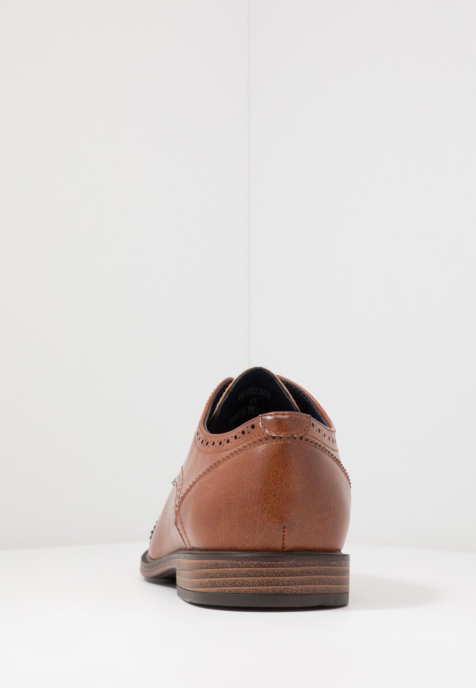 Burton Menswear London BRYANT BROGUE - Stringate eleganti - tan