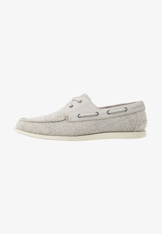 FLETCH BOAT SHOE - Boat shoes - grey