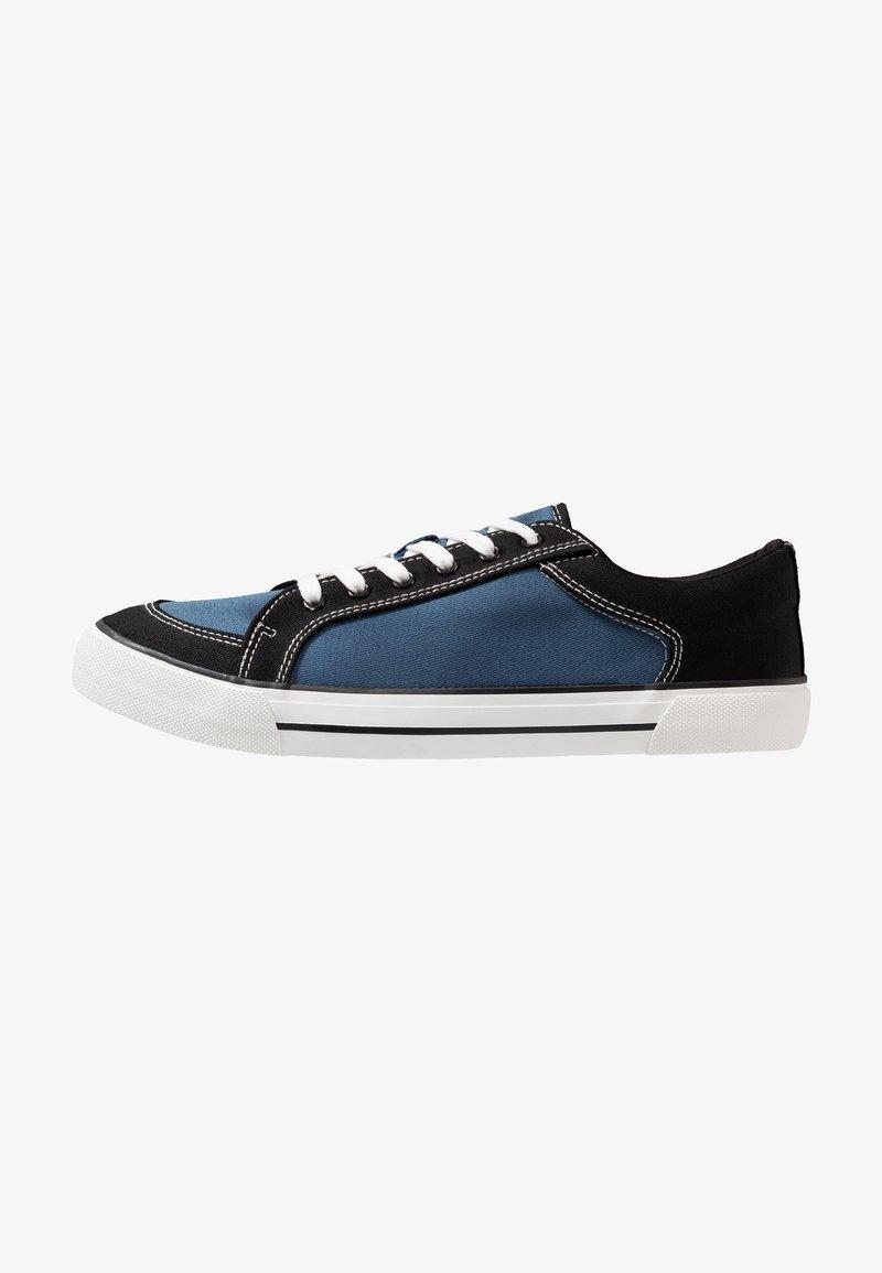 Burton Menswear London - BRYCE - Trainers - black/blue