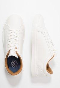 Burton Menswear London - DALE - Trainers - white - 1