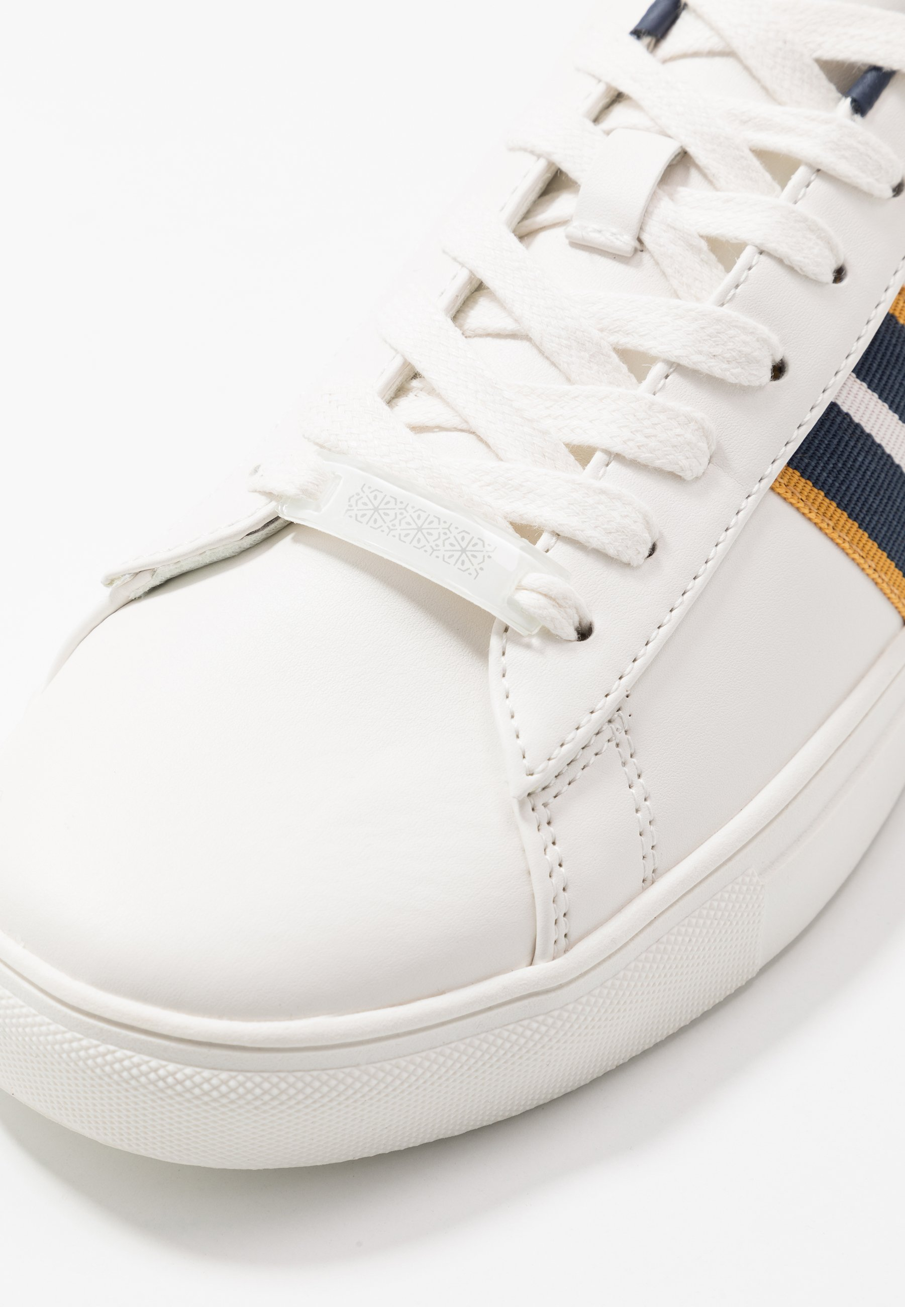Burton Menswear London DALE STRIPE TRAINER - Sneakers - white