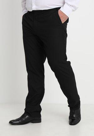 ESSENTIAL TAILORED - Oblekové kalhoty - black