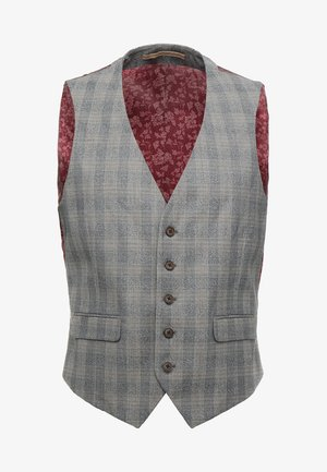 OVERCHECK - Dressvest - light grey