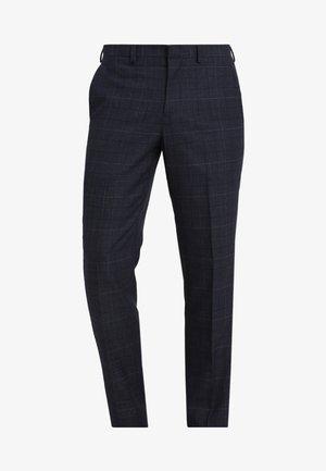 CHESNUT CHECK - Pantaloni eleganti - navy