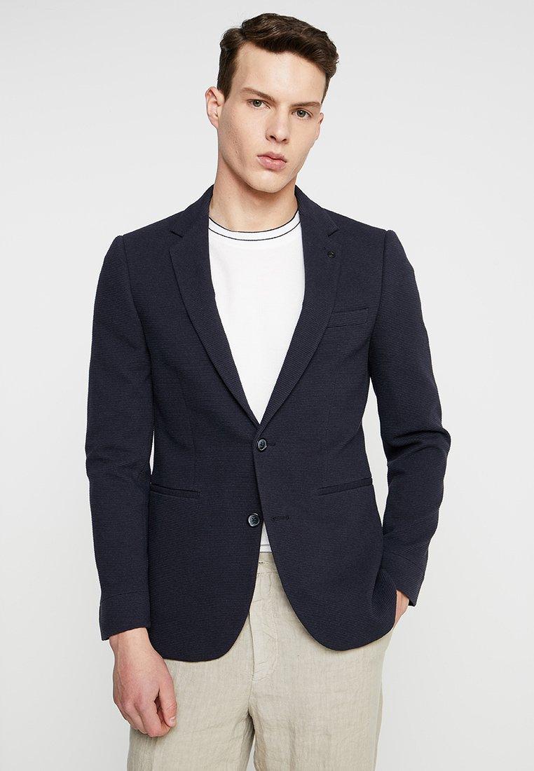 Burton Menswear London - OTTOMAN TEXTURED - Anzugsakko - navy