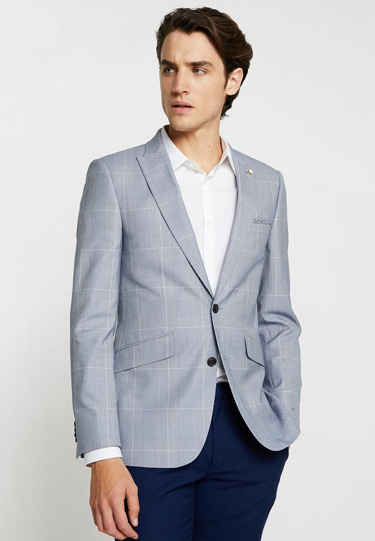 Burton Menswear London - LARGE POW  - Anzugsakko - blue