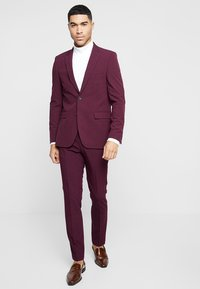 Burton Menswear London - SK1RASPBERRY - Kavaj - mauve - 1