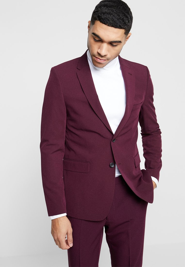 Burton Menswear London - SK1RASPBERRY - Kavaj - mauve