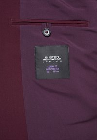 Burton Menswear London - SK1RASPBERRY - Kavaj - mauve - 5