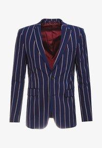 Burton Menswear London - BURG BOLD STRIPE  - Sako - navy - 4