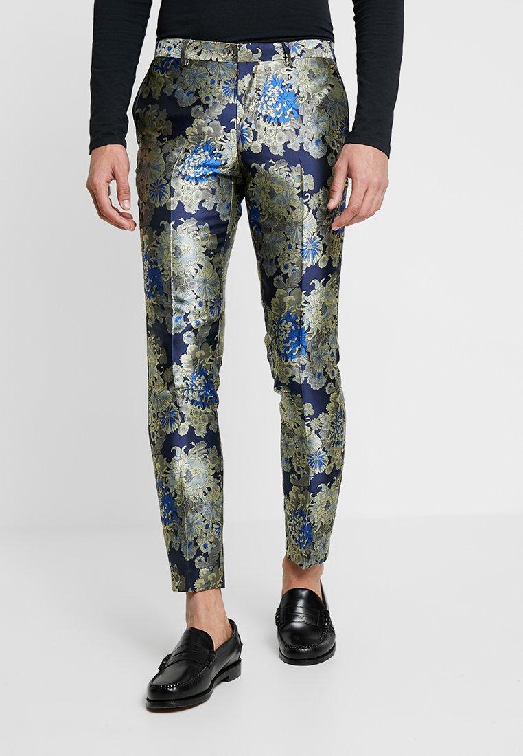 Burton Menswear London - FLORLA  - Jakkesæt bukser - multi-coloured