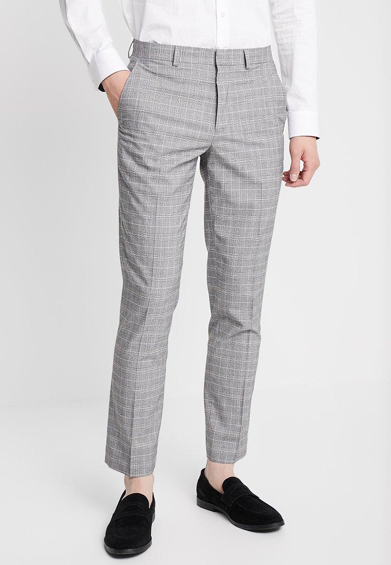 Burton Menswear London - POW CHECK  - Anzughose - light grey