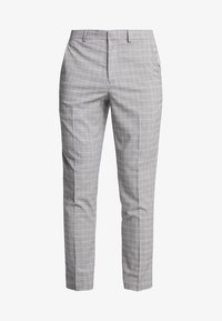 Burton Menswear London - POW CHECK  - Anzughose - light grey - 4
