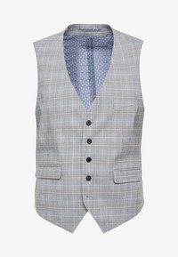 Burton Menswear London - MULTI POW CHECK - Anzugweste - light grey - 3
