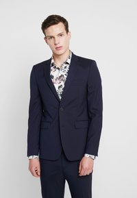 Burton Menswear London - ESSENTIAL SKINNY FIT - Colbert - navy - 0