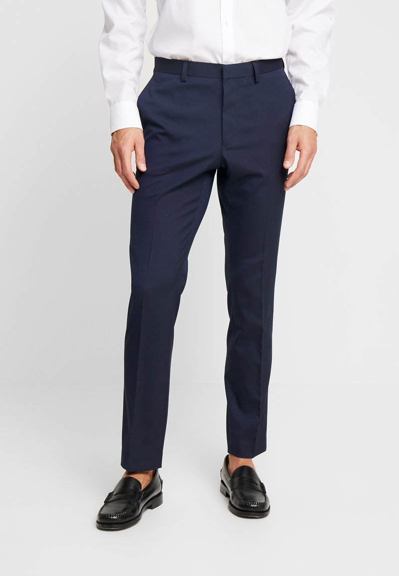 Burton Menswear London - Spodnie garniturowe - navy