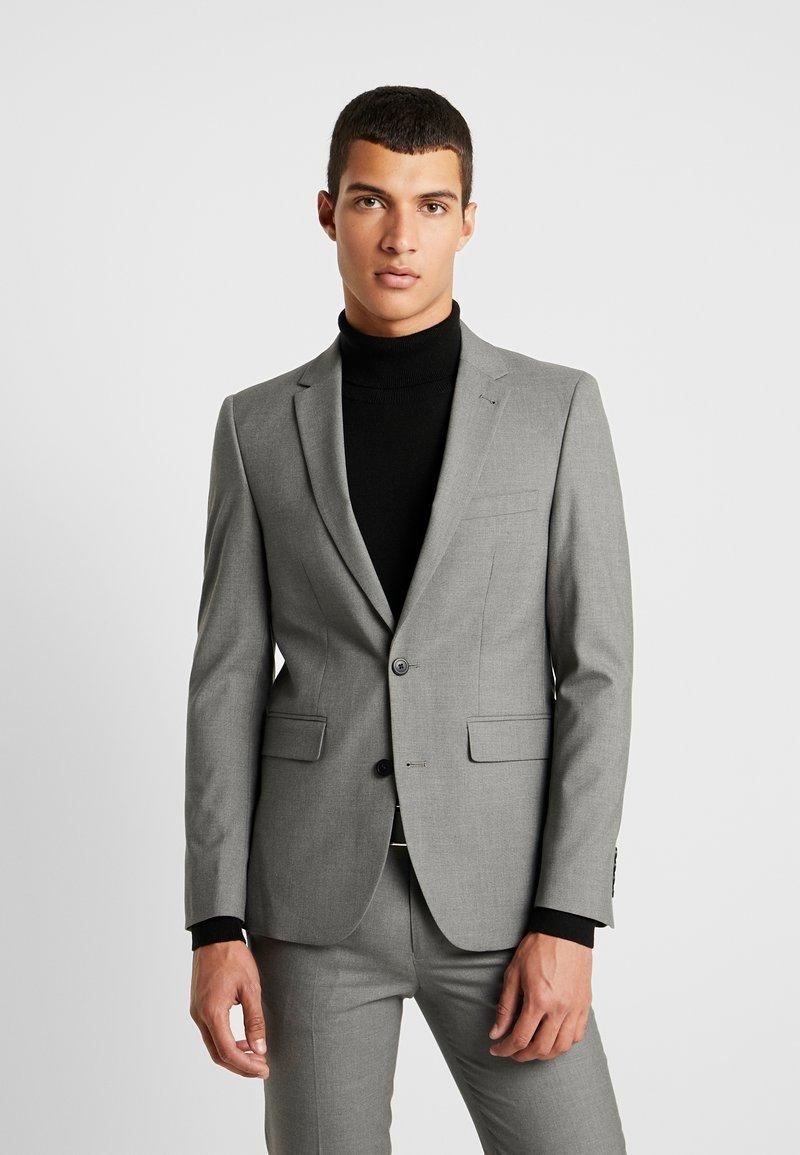 Burton Menswear London - ESSENTIAL SKINNY FIT  - Anzugsakko - grey