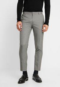 Burton Menswear London - ESSENTIAL - Kostymbyxor - grey - 0