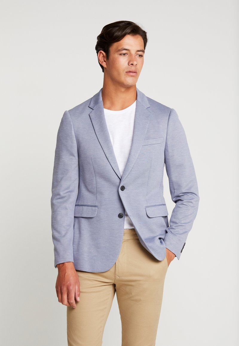 Burton Menswear London - Kavaj - blue