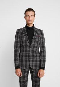 Burton Menswear London - LARGE TARTAN - Giacca elegante - grey - 0