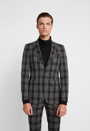 LARGE TARTAN - Chaqueta de traje - grey