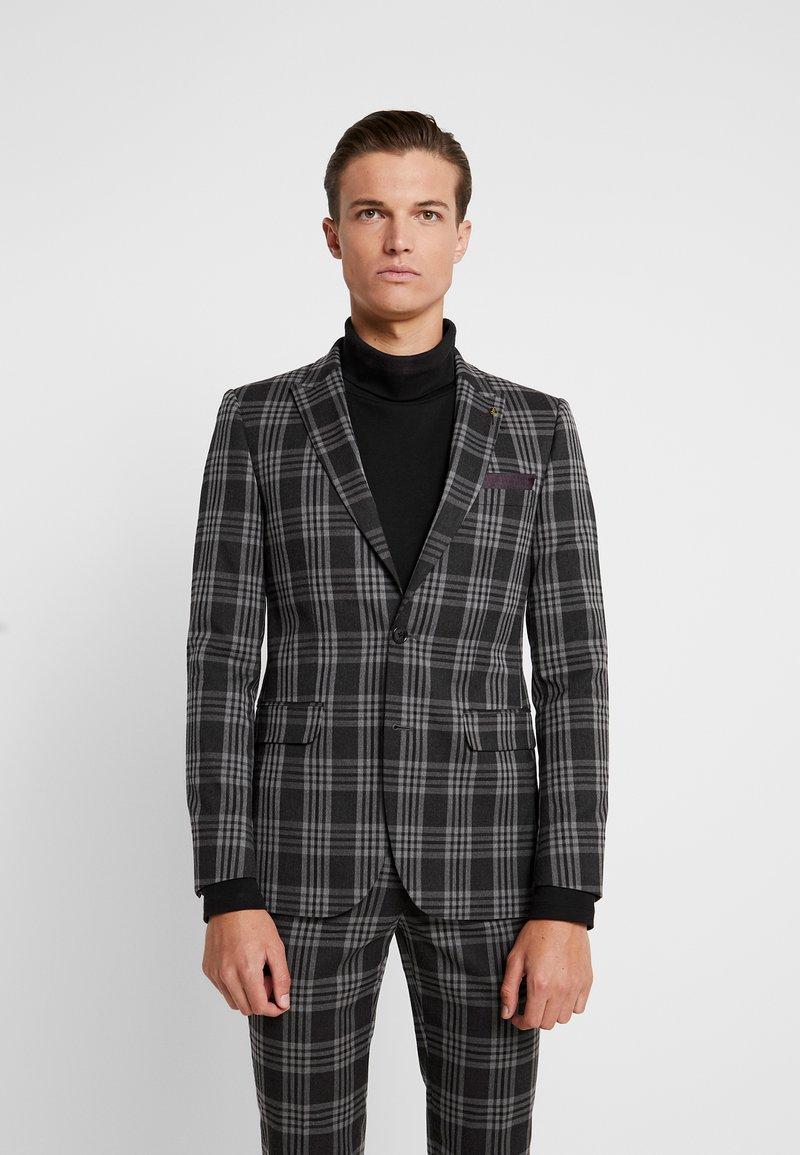Burton Menswear London - LARGE TARTAN - Giacca elegante - grey
