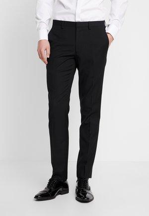 BLACK SKINNY TUX  - Pantalon de costume - black