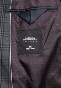 Burton Menswear London - PLAID CHECK - Giacca - blue - 6