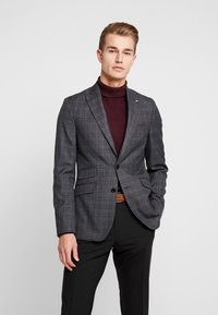 Burton Menswear London - PLAID CHECK - Giacca - blue - 0