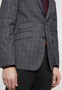 Burton Menswear London - PLAID CHECK - Giacca - blue - 4
