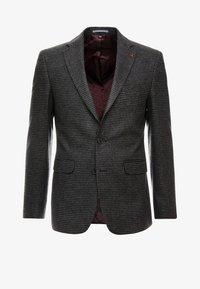 Burton Menswear London - DOGTOOTH BLAZER - Jakkesæt blazere - charcoal - 6