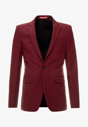 WINE STRETCH - Suit jacket - red
