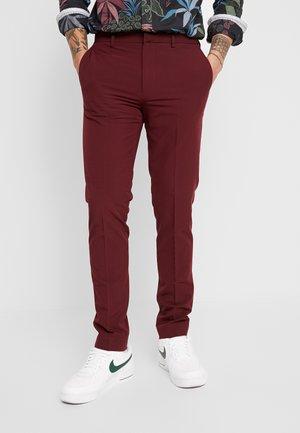 STRETCH - Pantaloni eleganti - red