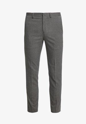 Oblekové kalhoty - brown