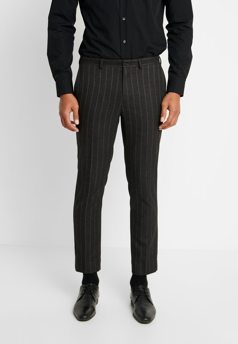 Burton Menswear London - COLLEGE STRIPE  - Anzughose - grey