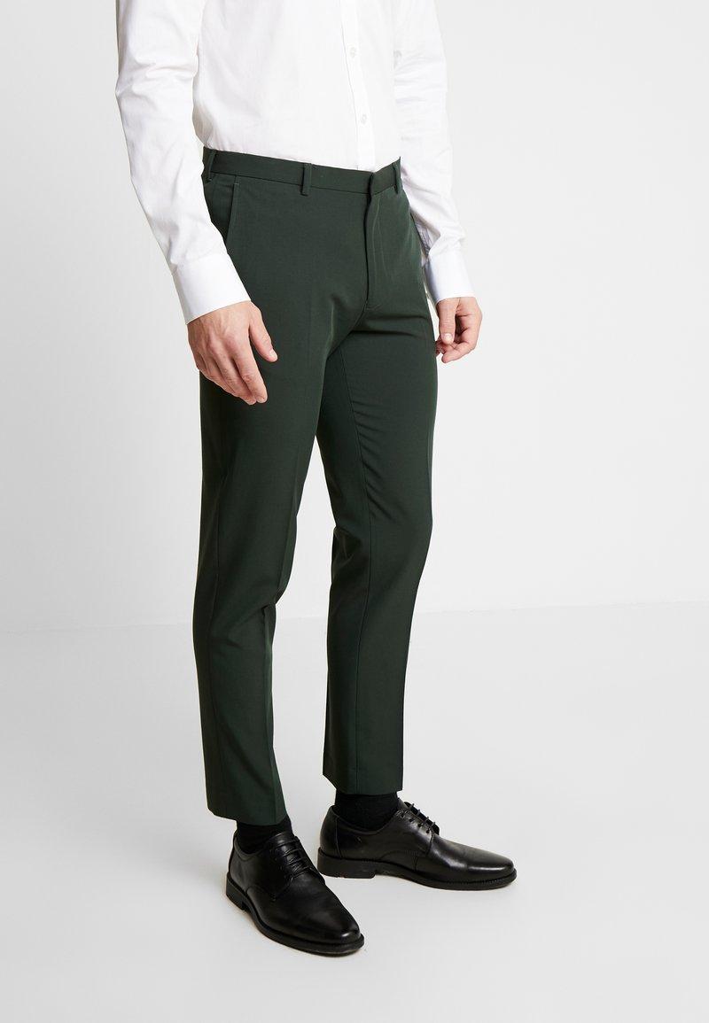 Burton Menswear London - SCARAB STRETCH - Pantaloni eleganti - green