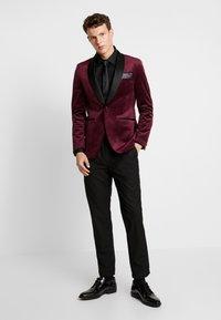 Burton Menswear London - CLARET SHAWL - Giacca - red - 1