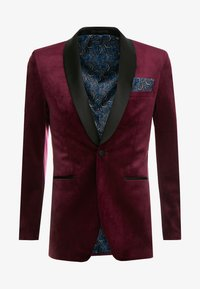 Burton Menswear London - CLARET SHAWL - Giacca - red - 4