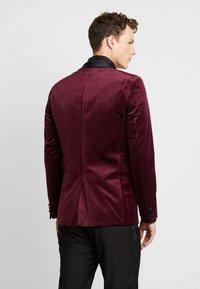 Burton Menswear London - CLARET SHAWL - Giacca - red - 2