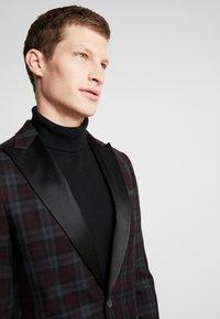 Burton Menswear London - PARTY - blazer - bordeaux - 4