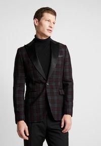 Burton Menswear London - PARTY - blazer - bordeaux - 0