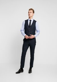 Burton Menswear London - WATCH CHECK - Pantaloni eleganti - black - 1