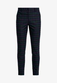 Burton Menswear London - WATCH CHECK - Pantaloni eleganti - black - 4